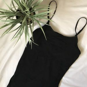 American eagle black cami tank top size small s